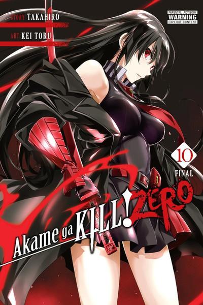 Akame Ga KILL! ZERO Manga Volume 10