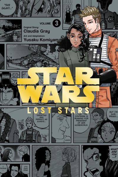Star Wars Lost Stars Manga Volume 3