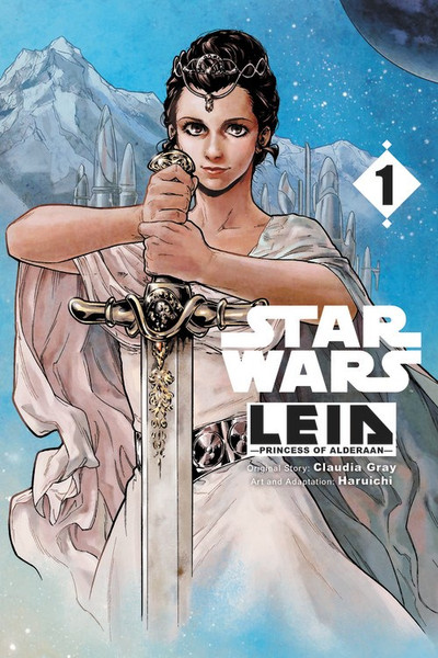Star Wars Leia Princess of Alderaan Manga Volume 1