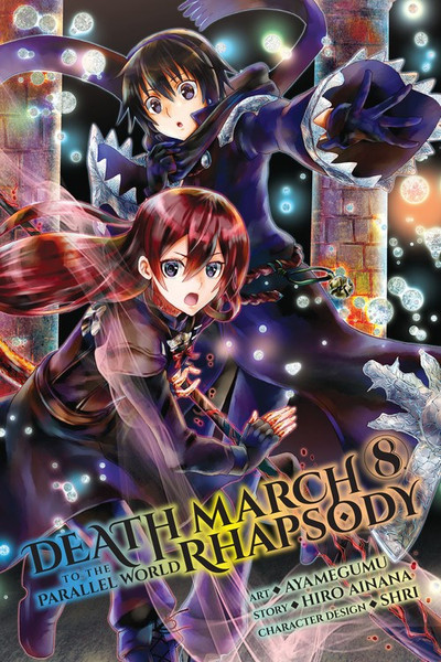 Death March to the Parallel World Rhapsody Manga Volume 8