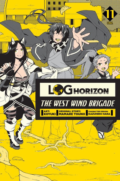 Log Horizon The West Wind Brigade Manga Volume 11