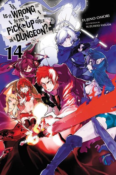 Is It Wrong to Try to Pick Up Girls in a Dungeon? Novel Volume 14