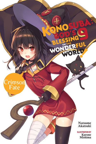 Konosuba God's Blessing on This Wonderful World Novel Volume 9