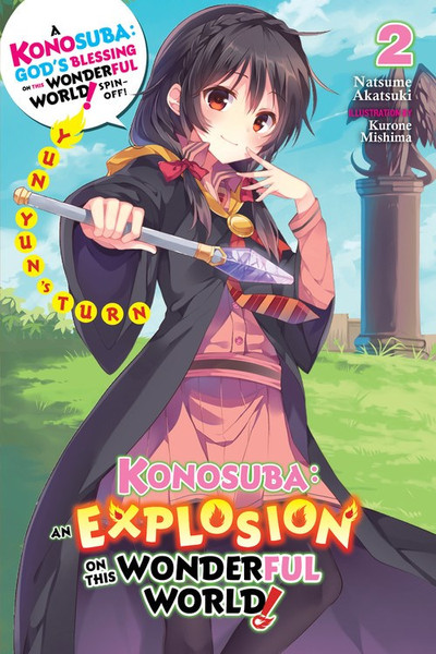 Konosuba An Explosion on This Wonderful World Novel Volume 2