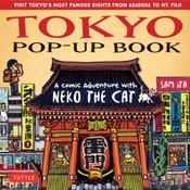 Tokyo Pop-Up Book A Comic Adventure with Neko the Cat (Hardcover)