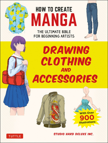 How to Create Manga Drawing Clothing and Accessories