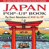Japan Pop-Up Book The Comic Adventures of Neko the Cat (Hardcover)
