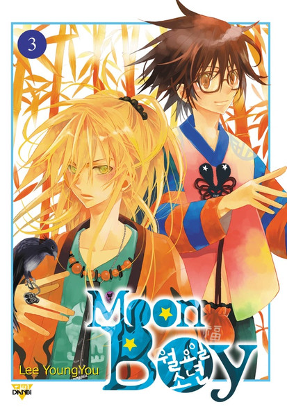 Moon Boy Manga Volume 3