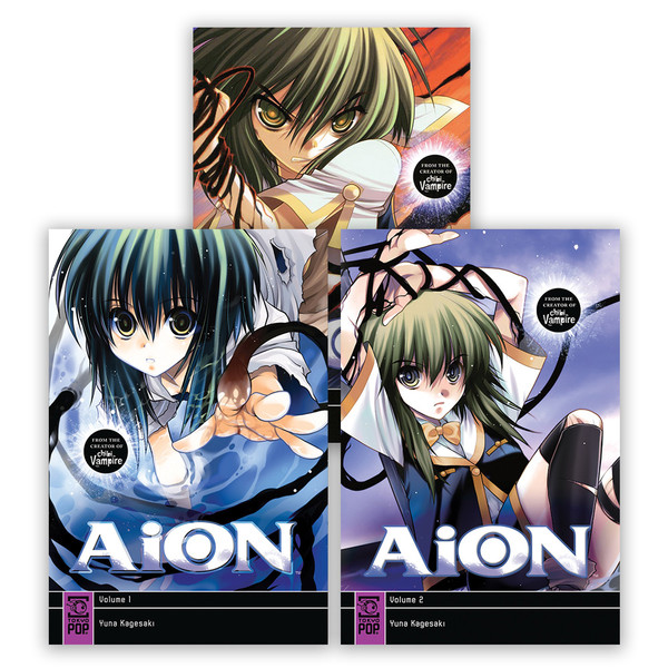 AiON Manga (1-3) Bundle