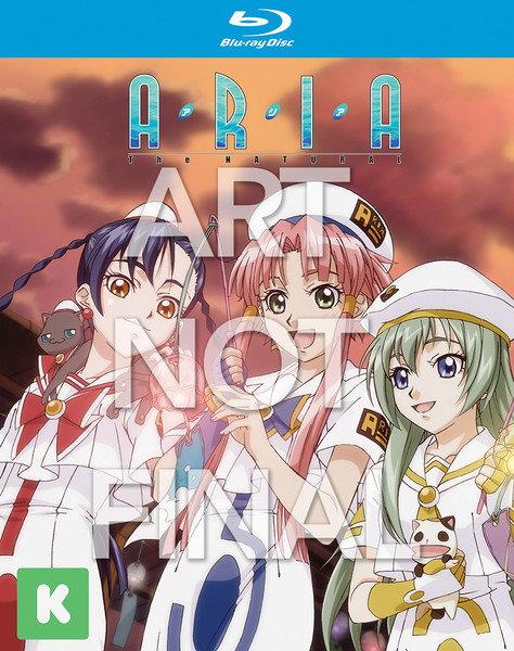 Kickstarter Aria the Natural Set 2 Blu-ray