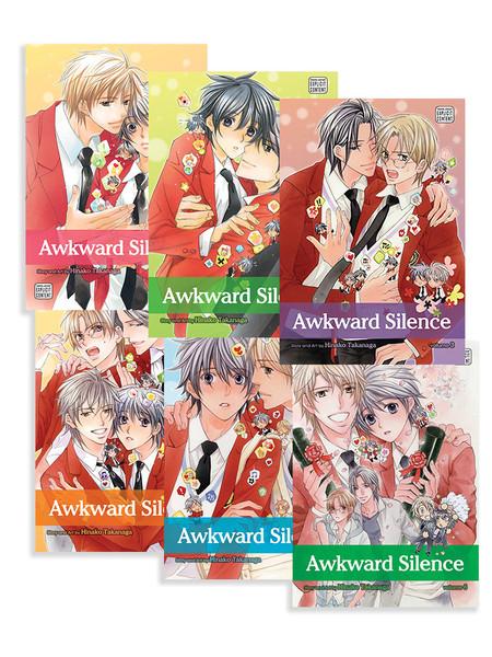 Awkward Silence Manga (1-6) Bundle