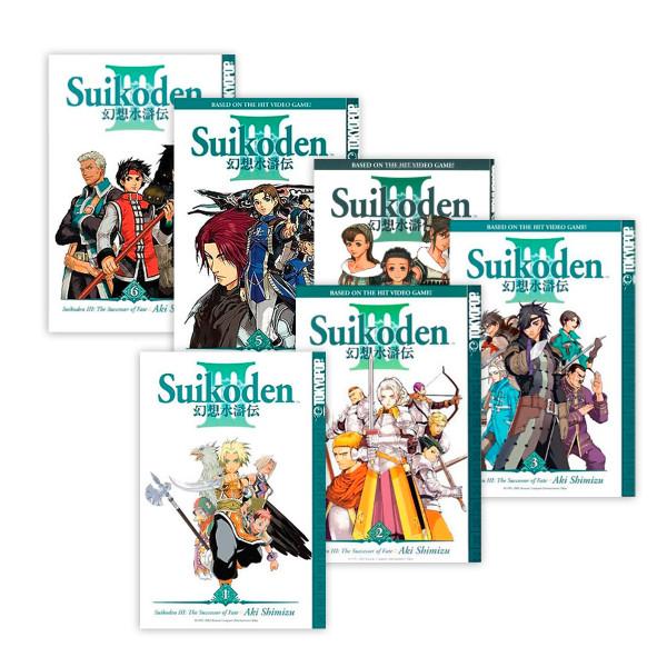 Suikoden III Manga (1-6) Bundle