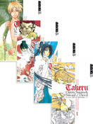 Takeru Opera Susanoh Sword of the Devil Manga (1-4) Bundle