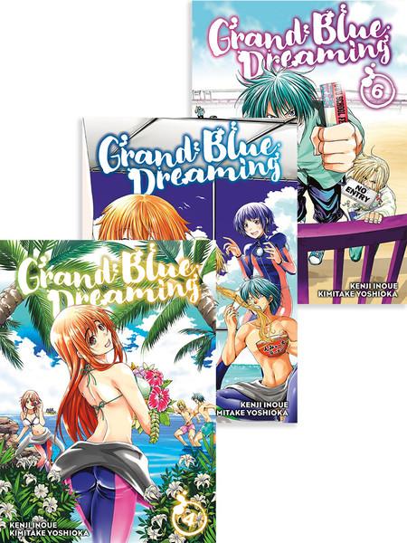 Grand Blue Dreaming Manga (4-6) Bundle