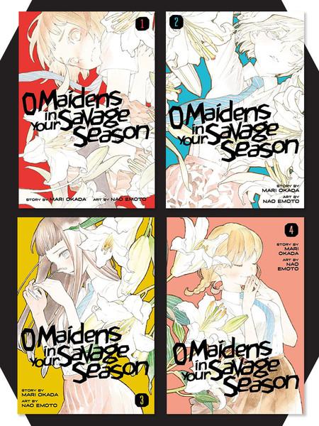 O Maidens In Your Savage Season Manga (1-4) Bundle