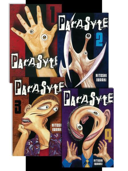 Parasyte Manga (1-4) Bundle