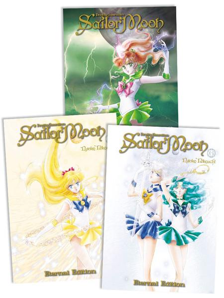 Sailor Moon Eternal Edition Manga (4-6) Bundle