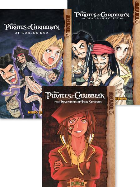 Pirates of the Caribbean Manga Bundle