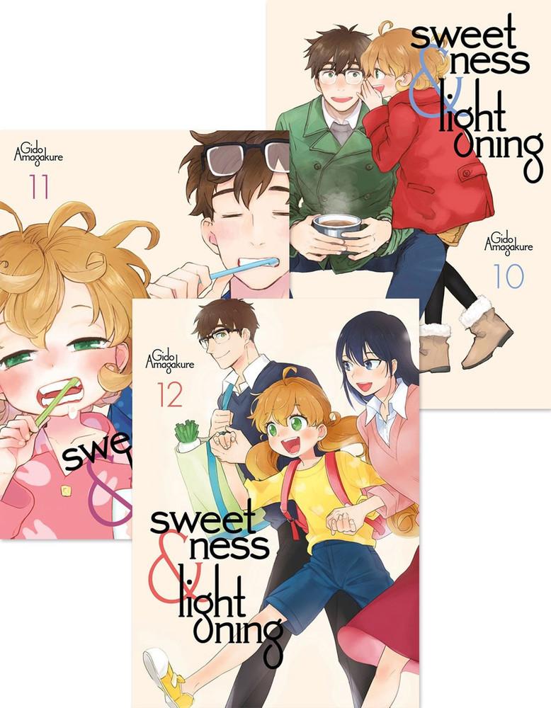 Sweetness and Lightning Manga (10-12) Bundle