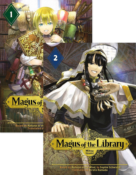Magus of the Library Manga (1-2) Bundle