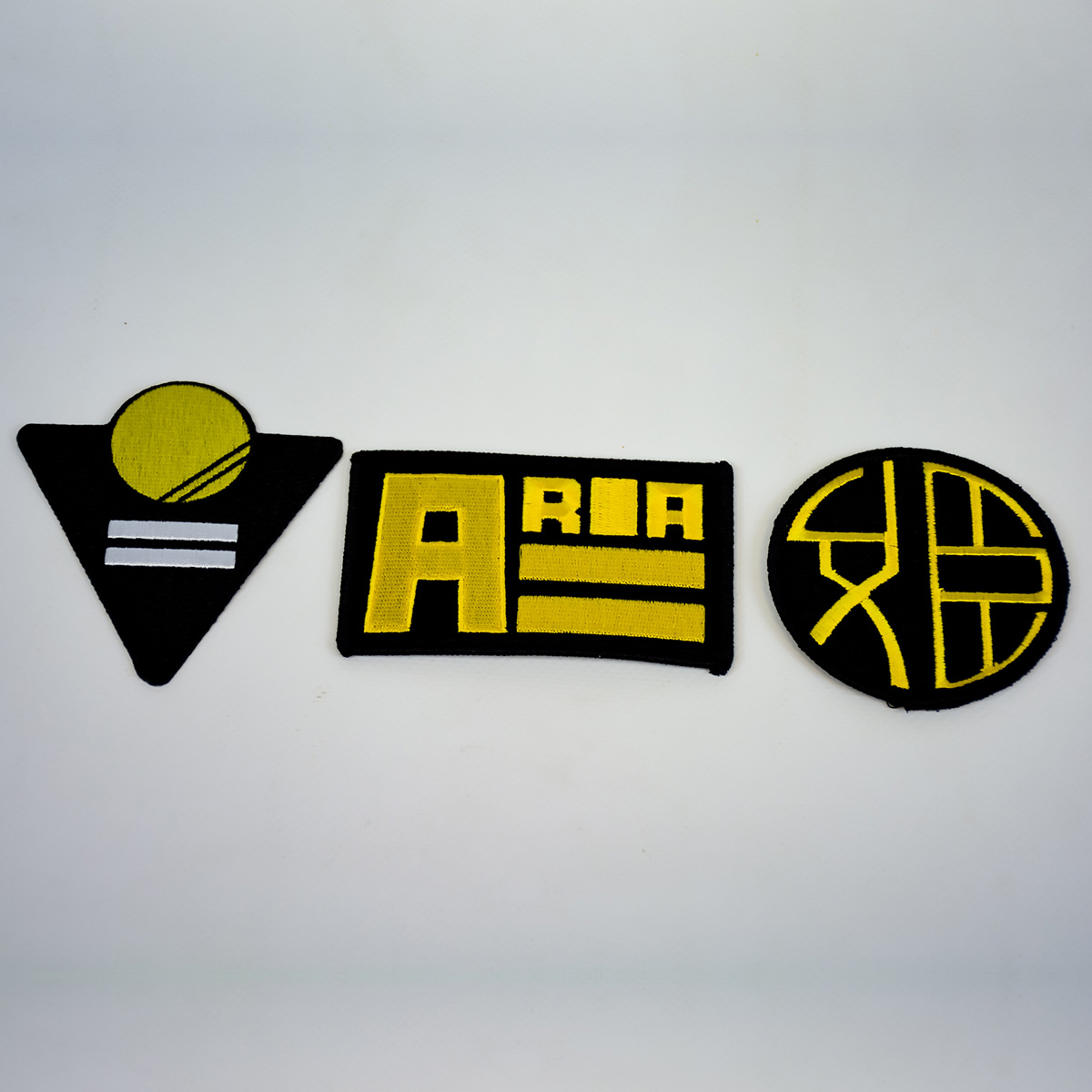 Aria Kickstarter Company Logo Patches Set