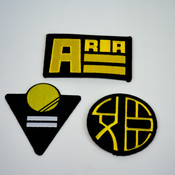 Aria Kickstarter Company Logo Patches Set