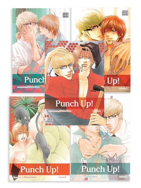 Punch Up! Manga (1-5) Bundle