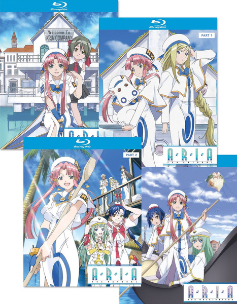 Aria The Animation Blu-ray Bundle