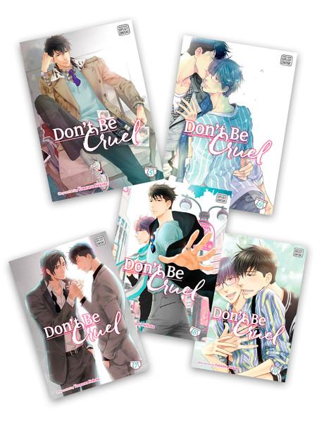 Don't Be Cruel Manga (5-9) Bundle