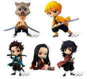 Demon Slayer Q Posket Petit Prize Figure Set