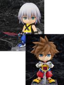 Kingdom Hearts (Sora & Riku) Nendoroid Figure Bundle