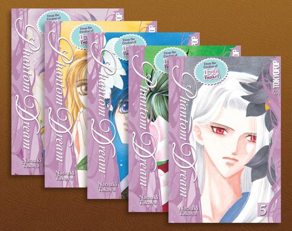 Phantom Dream Manga (1-5) Bundle