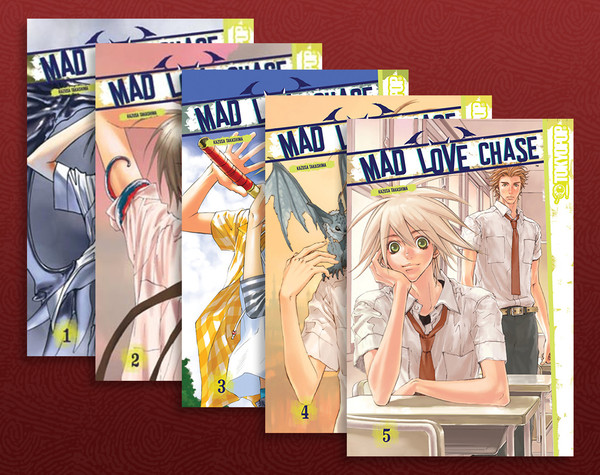 Mad Love Chase (1-5) Manga Bundle
