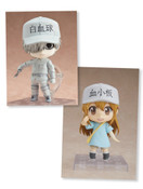 Cells at Work! (White Blood Cell & Platelet) Nendoroid Figure Bundle