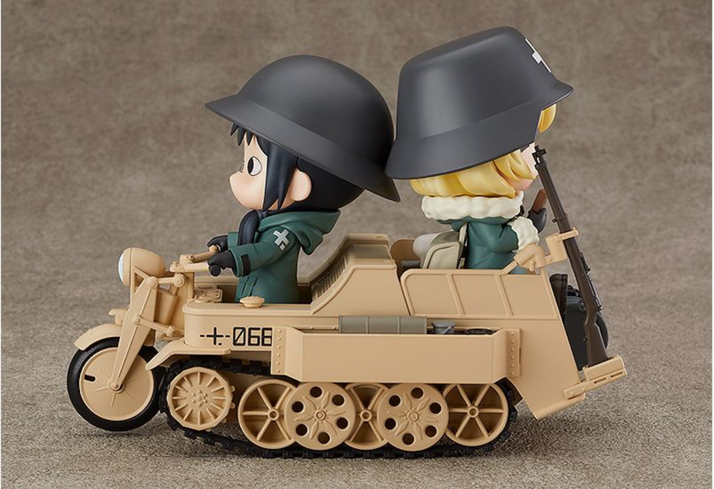 Girls Last Tour (Chito, Yuri, & Kettenkrad) Nendoroid Figure Bundle