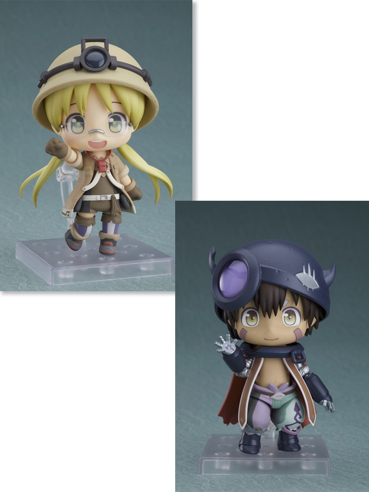 Made in Abyss (Reg & Riko) Nendoroid Figure Bundle