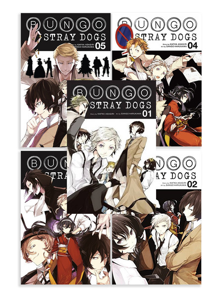 Bungo Stray Dogs Manga (1-5) Bundle
