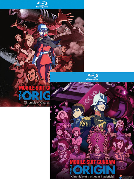 Mobile Suit Gundam The Origin (Char/Sayla & The Chronicle of the Loum Battlefield) Blu-ray Bundle