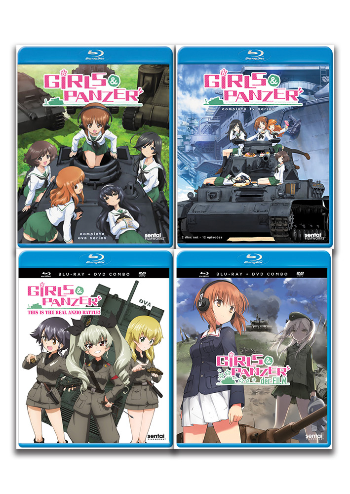 Girls und Panzer Blu-ray Bundle