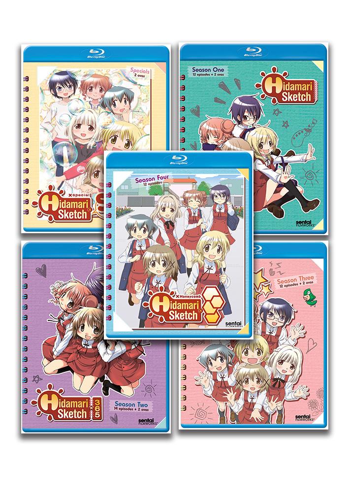 Hidamari Sketch Blu-ray Bundle BUNDLES240