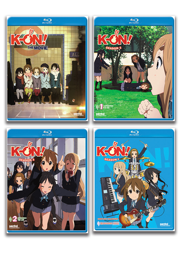 K-ON! Blu-ray Bundle BUNDLES246
