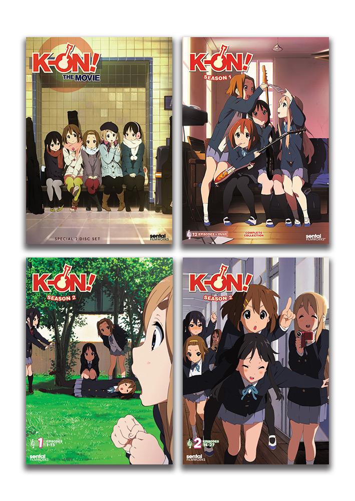 K-ON! DVD Bundle