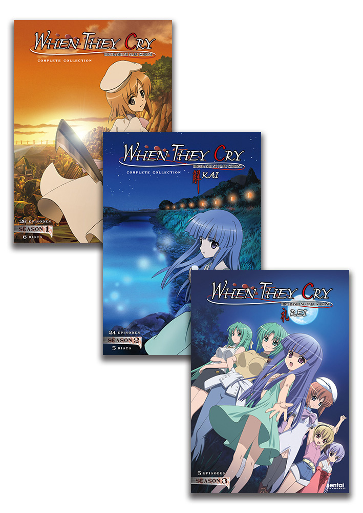 When They Cry DVD Bundle