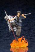[Damaged] Shinmon Benimaru Fire Force ARTFX J Figure