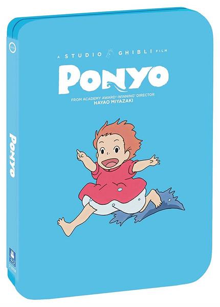 [Damaged] Ponyo Steelbook Blu-ray/DVD