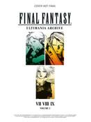 [Damaged] Final Fantasy Ultimania Archive Artbook Volume 2 (Hardcover)