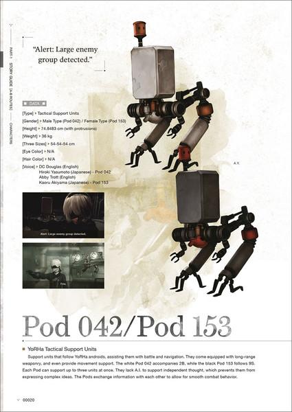 [Damaged] NieR Automata World Guide Artbook Volume 2 (Hardcover)