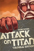 [Damaged] Attack on Titan: Colossal Edition Graphic Novel Omnibus 1