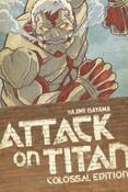 [Damaged] Attack on Titan Colossal Edition Manga Volume 3