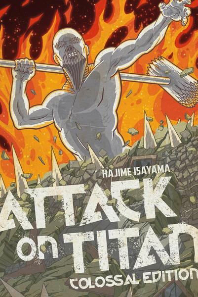 [Damaged] Attack on Titan Colossal Edition Manga Volume 5
